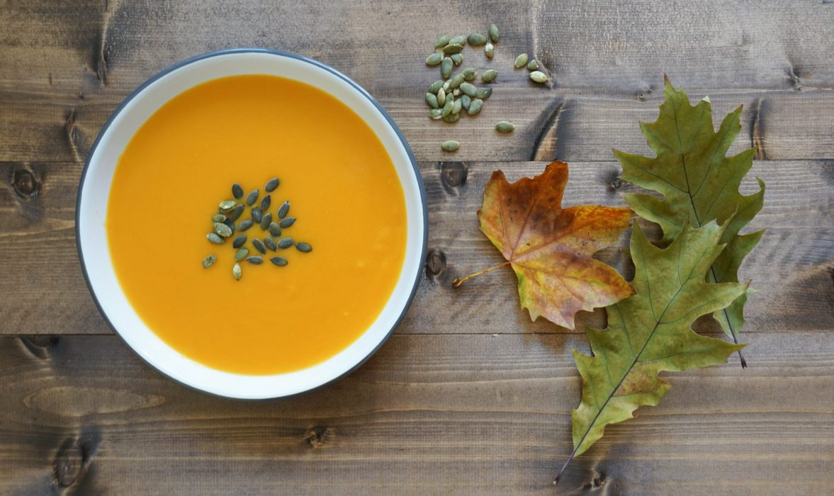 Butternut soup for autumn