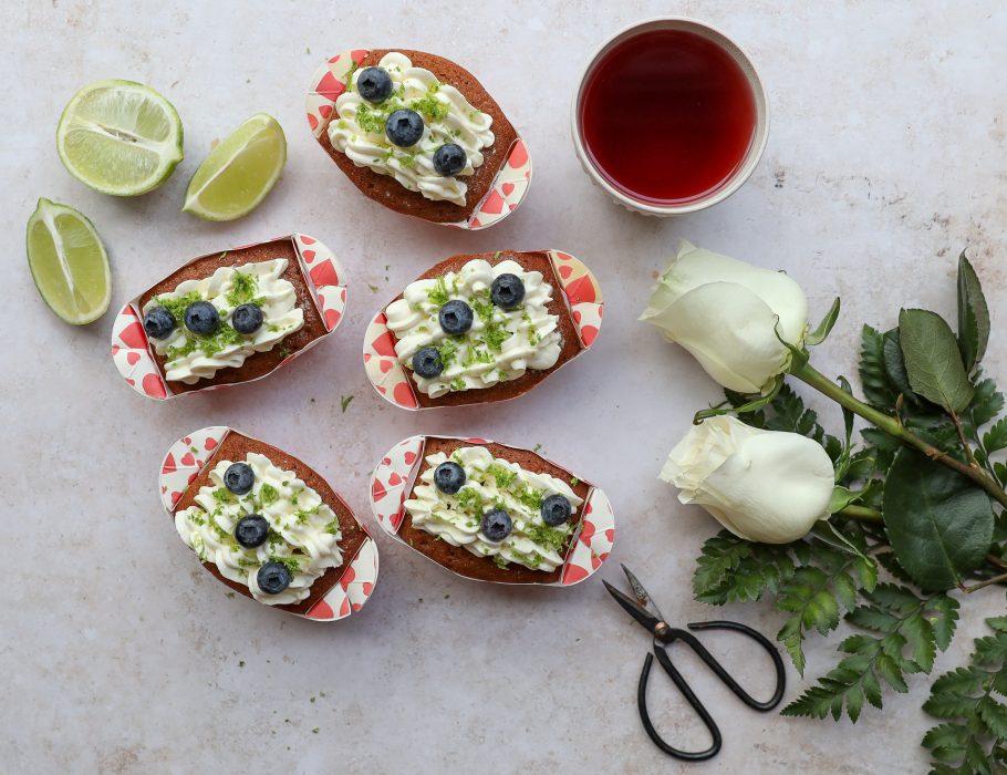 Mini plumcakes